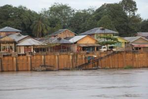 the quay in Kota Bargun