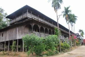 the longhouse in Macong