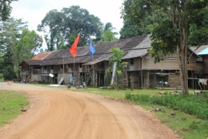 longhouse in Benung