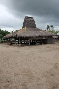 another tall roof, outside Umabara