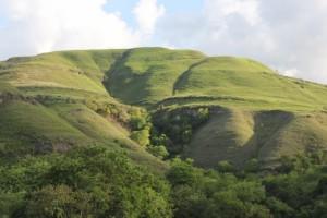the bare hills, outside Waingapu