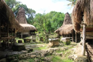 Kampung Segarum, outside town, is another traditional village