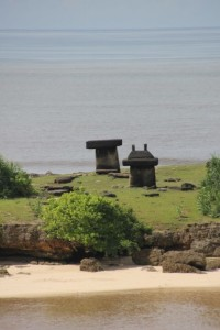 Ratenggaro tombs outside the village