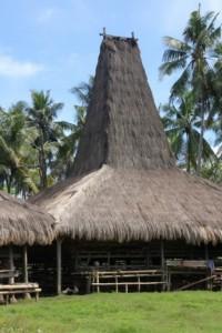 traditional house in Kampung Rangabaki