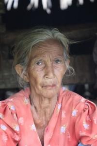 one of the village ladies