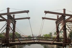 old Dutch drawing bridge