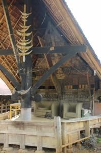 relatively modern addition to the verandah