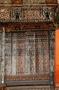 intricately decorated front panels