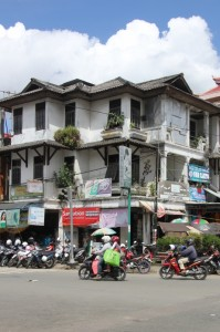 street corner in Samarinda