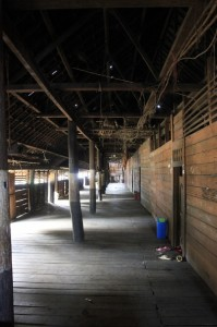 inside the longhouse