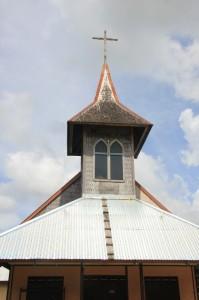 the small Catholic church of Barong Tongkok