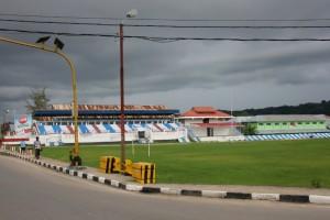 the football stadium in Waikabubak