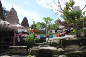 one of the kampungs (Tarona) around town