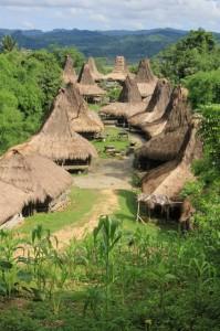 one of the large kampungs east of Waitabubak, Praijiang