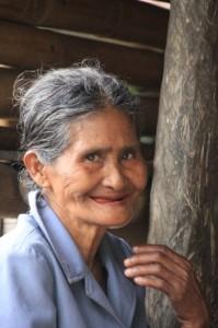 one of the women of Kampung Segarum