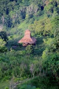 isolated house in the Wanokaka hills