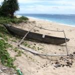 canoe at Marusi beach