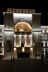 the opera building of Timisoara
