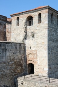 the entrance of the fortress