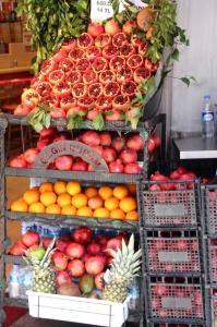 fresh fruit in Taksim