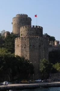 castle along the Bosphorus