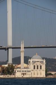 small mosque along the Bosphorus
