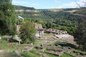 what is left of the Fortress, restored or rebuilt