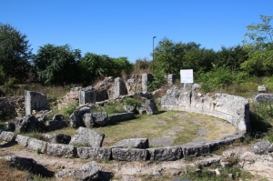 a really small amphitheatre, Nikopolis-ad-Istrum