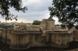 the Suceava citadel