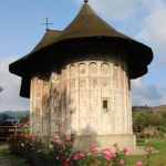 Humor church, the painted church of Humor monastery in Bucovina