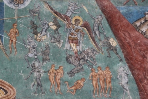 detail of the Last Judgment (1)