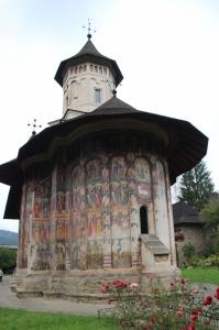 church of the Moldovita Monastery