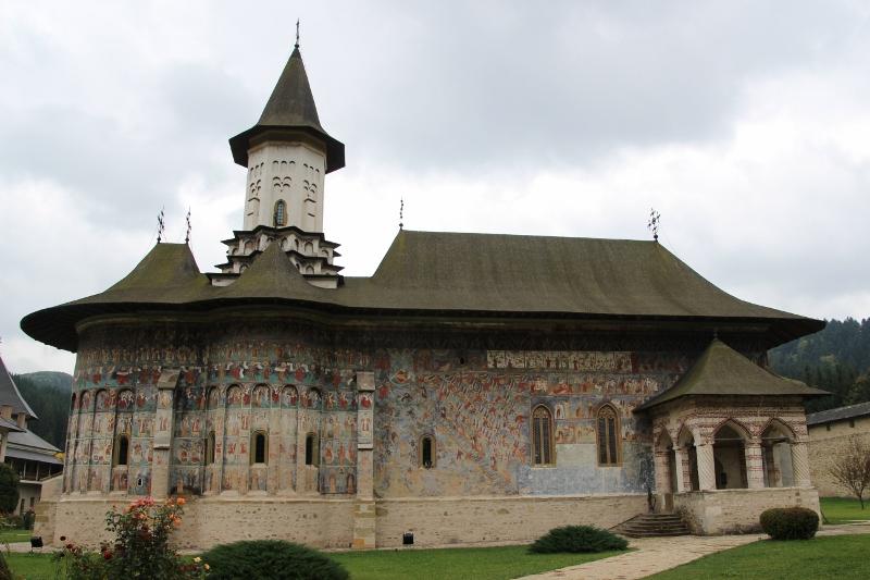 the monastic church, in its full glory