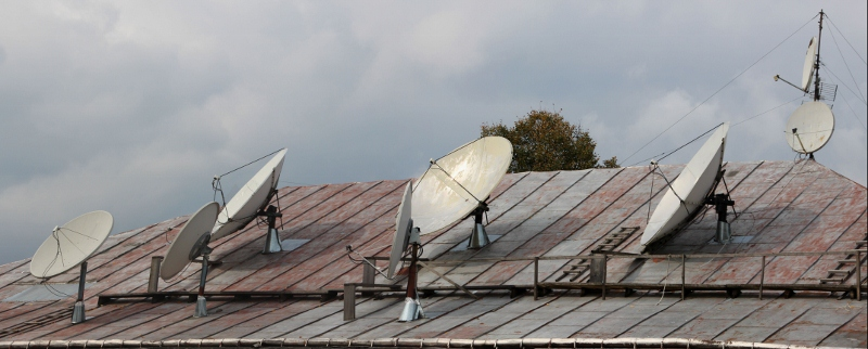 satelite dishes are indispensable