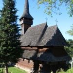 the wooden church in Poienile Izei