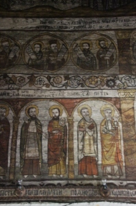 frescoes are executed in great detail