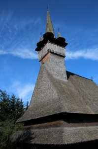 the Budesti church in Maramures