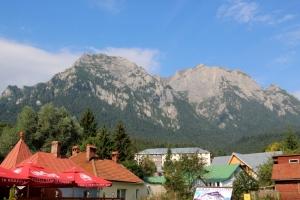 the Bucegi Mountains