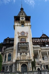the tower of the Pelas Palace