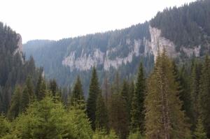 the mountains near Moroieni where no tourists come