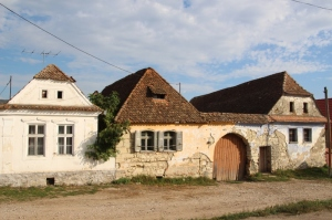 a house in one of the Hungarian Szekely villages in Transylvania