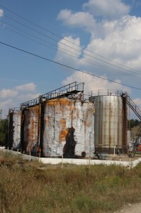 not all the storage tanks, either