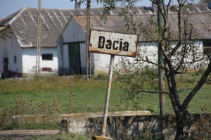 Dacia is the Romanian precursur empire; not much left right now, except a small village in Transylvania