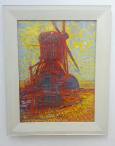 Mondriaan's Mill in Sunlight (1908), an early work