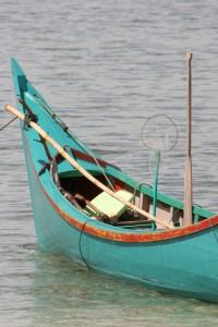 fishing boat near Panta Raja