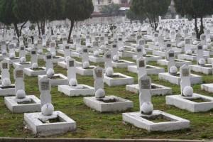 war cemetery in Medan