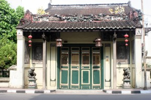 Chinese Mansion, another landmark in Medan