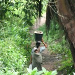 woman and child near Gurusinga