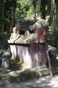 royal tomb in Tomok, Lake Toba