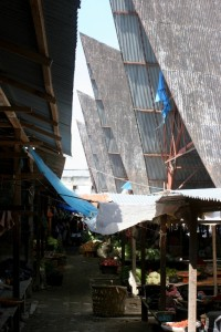 the market in Balige
